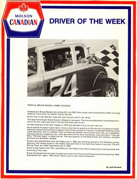 Driver of the Week