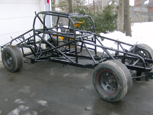Chassis Painted