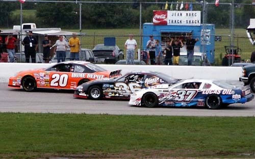 3 wide with Tony
